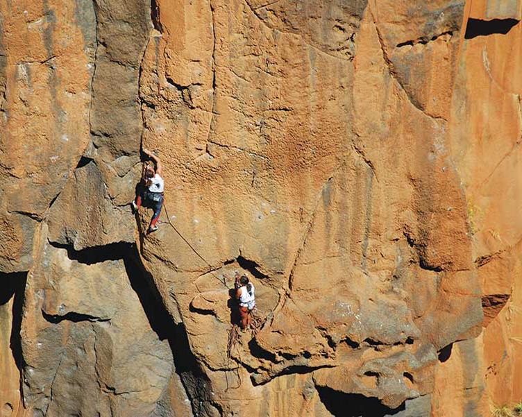 Escalada en Canarias. Foto: Promotor