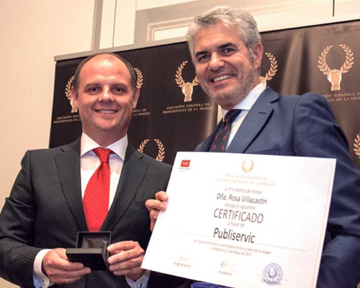 Tomás Martín y Agustín Bravo.