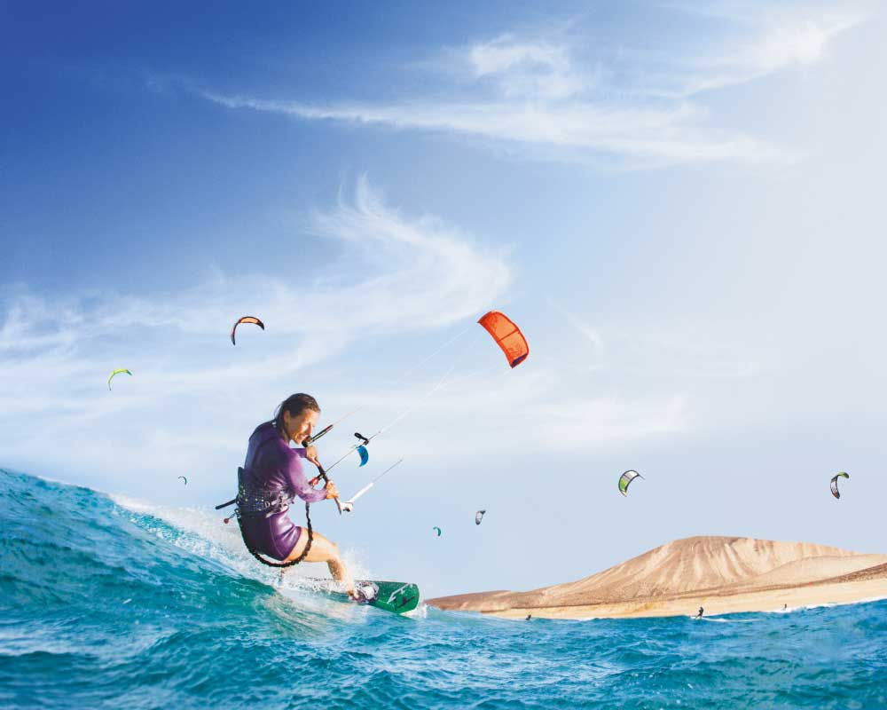 KITE SURF EN Playa LA BARCA, FUERTEVENTURA | WE PHOTOGRAPHY