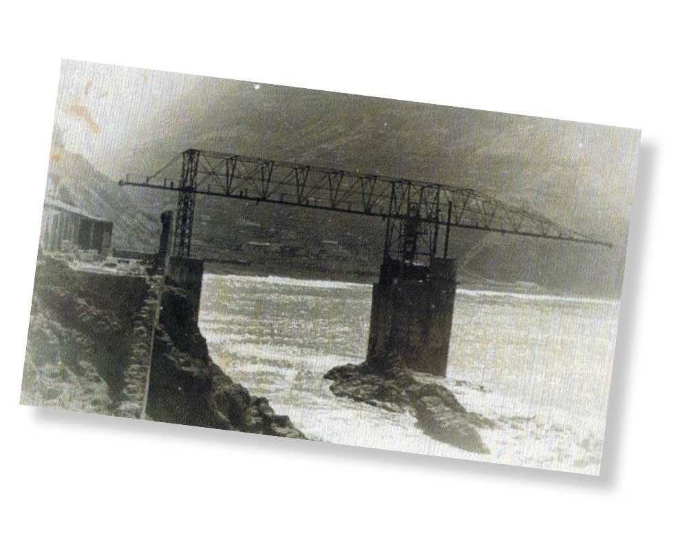 Instantánea del Pescante de Hermigua en el siglo pasado | AYUNTAMIENTO DE HERMIGUA