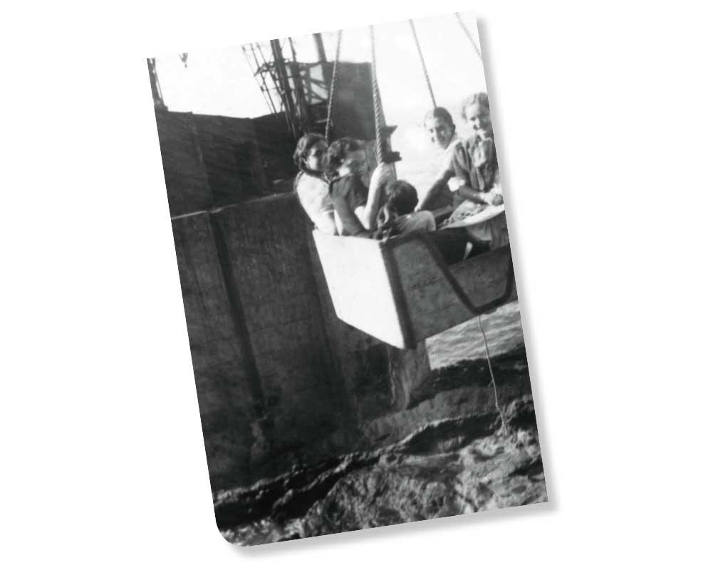 Embarque de Pasajeros en los barcos fruteros | AYUNTAMIENTO DE HERMIGUA