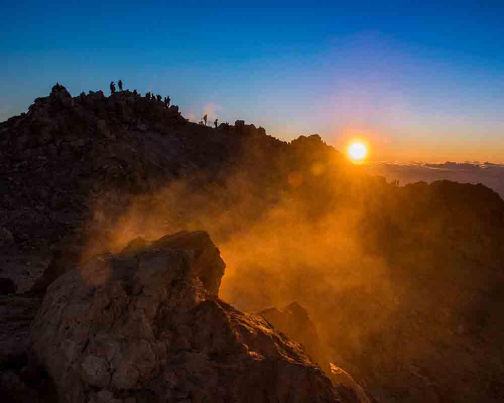 360º Miradores Tenerife / ECLIPSE DE LUNA EN EL TEIDE - Nacho González Oramas