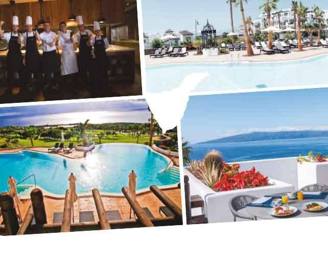Vistas al Abama Golf y al Atlántico desde Las Terrazas de Abama | Hotel Las Terrazas de Abama
