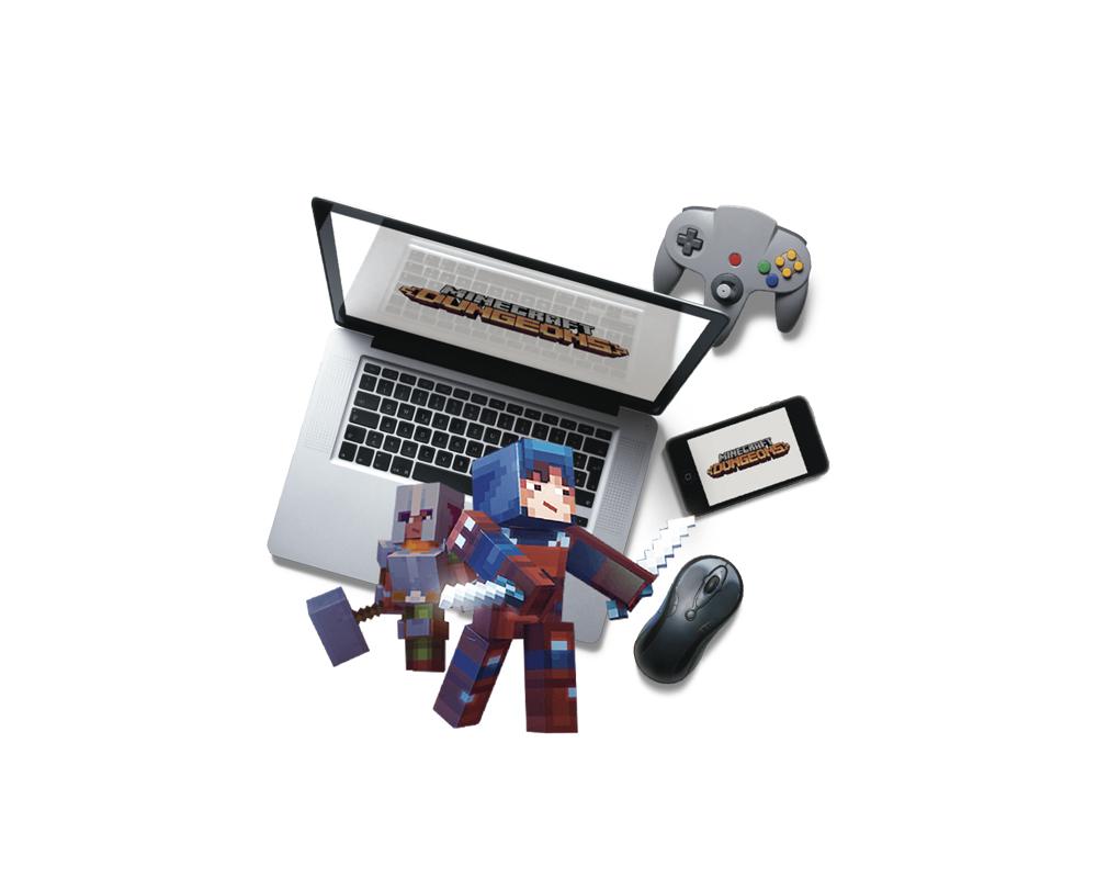 Minecraft Dungeons / Videojuegos - Bes Magazine 19