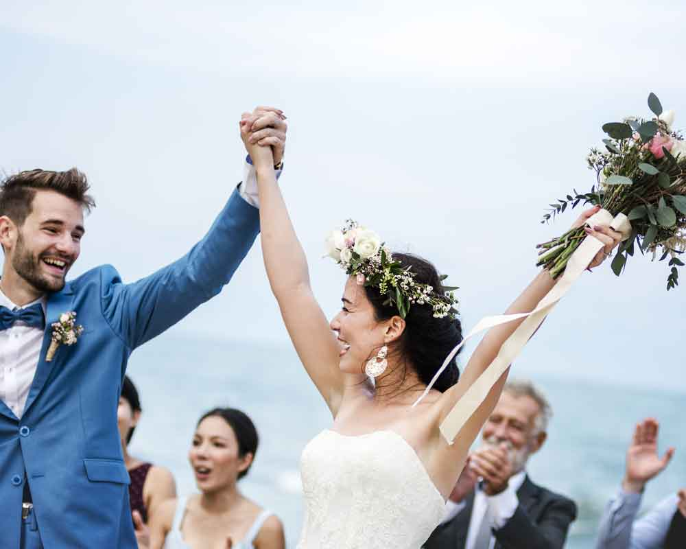 Playa de Las Conchas, bodas en la playa