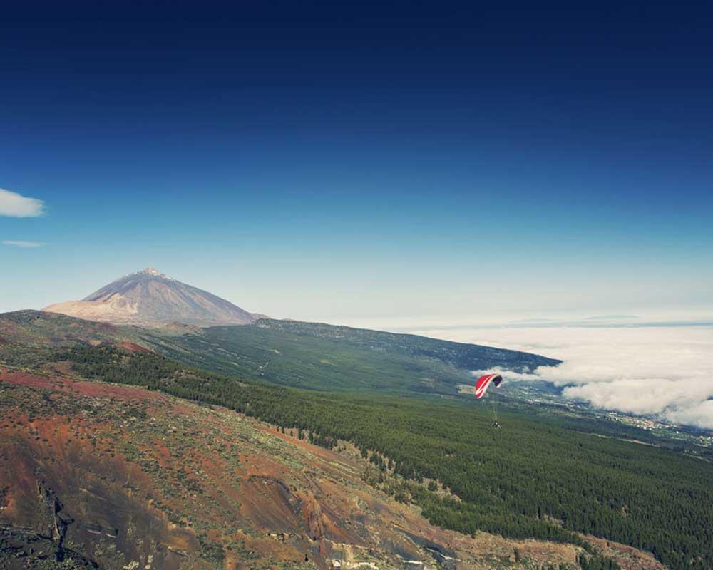 Tenerife en parapente