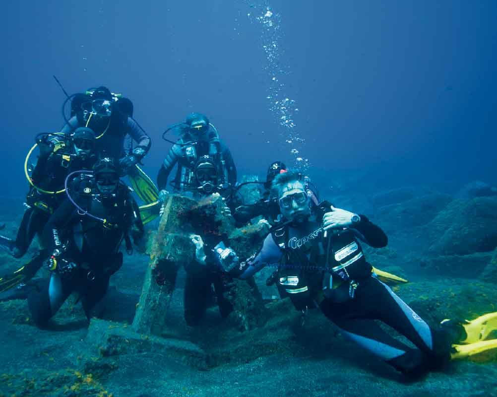 Submarinistas EN LAS Cruces de Malpique  |    Jonatan Rodríguez