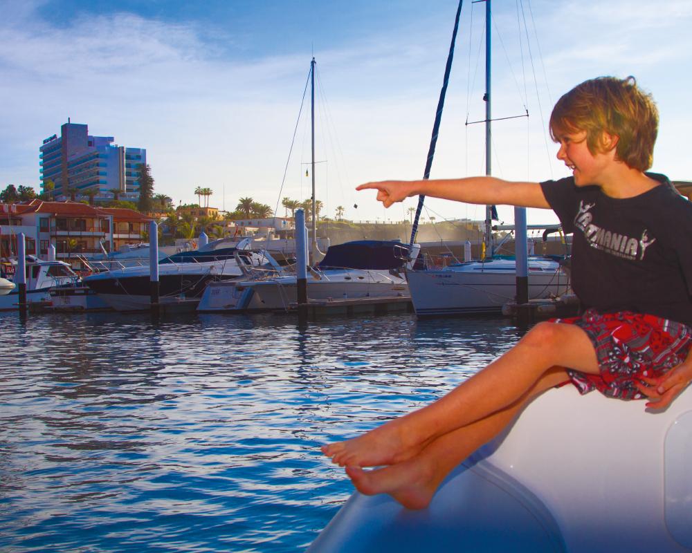Tenerife 10 puertos y marinas PUERTO DE LOS GIGANTES | Alex Bramwell / Lex Thoonen