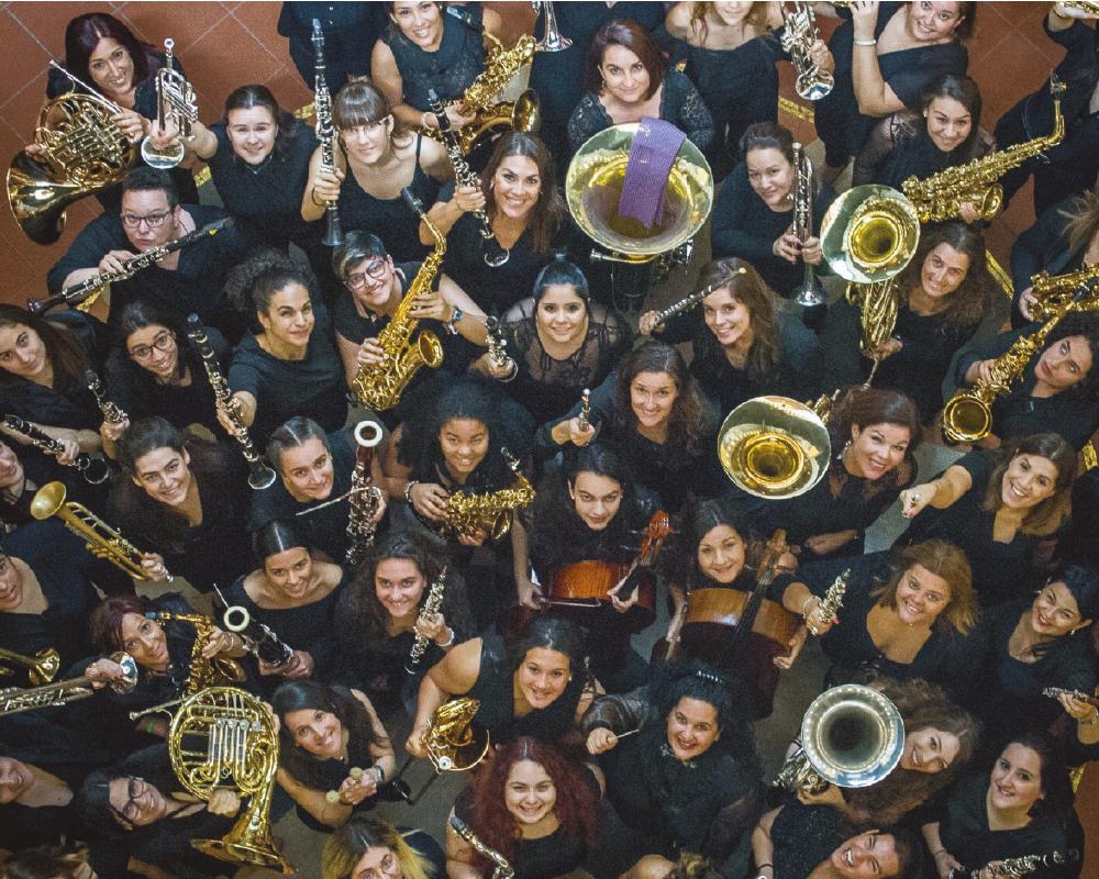 Gran Canaria's Women Band